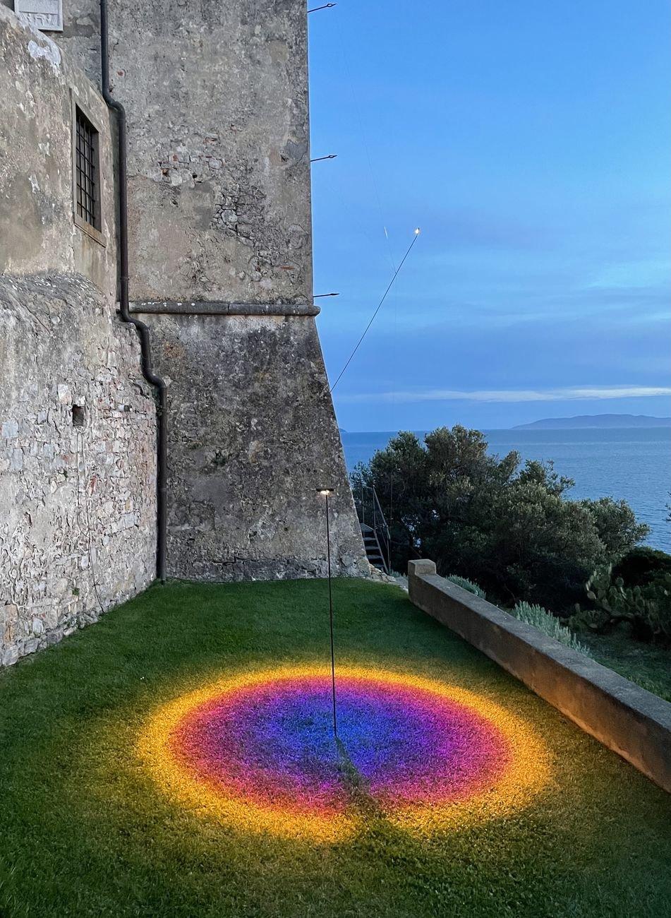Hypermaremma 2021. Mandalaki, Hymn to the Sun. Torre di Talamonaccio, baia di Talamone