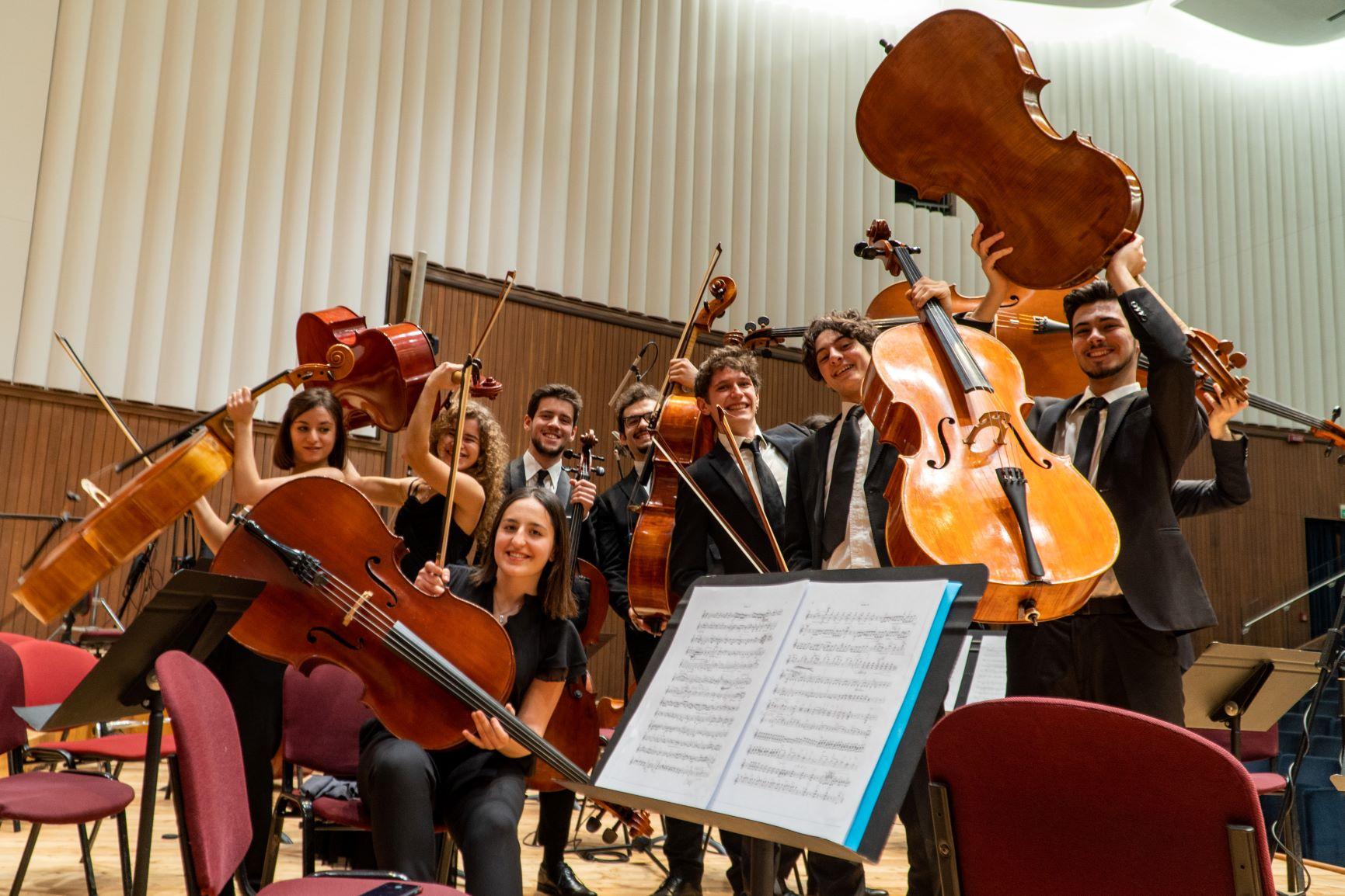 I ragazzi del Conservatorio Giuseppe Verdi di Milano