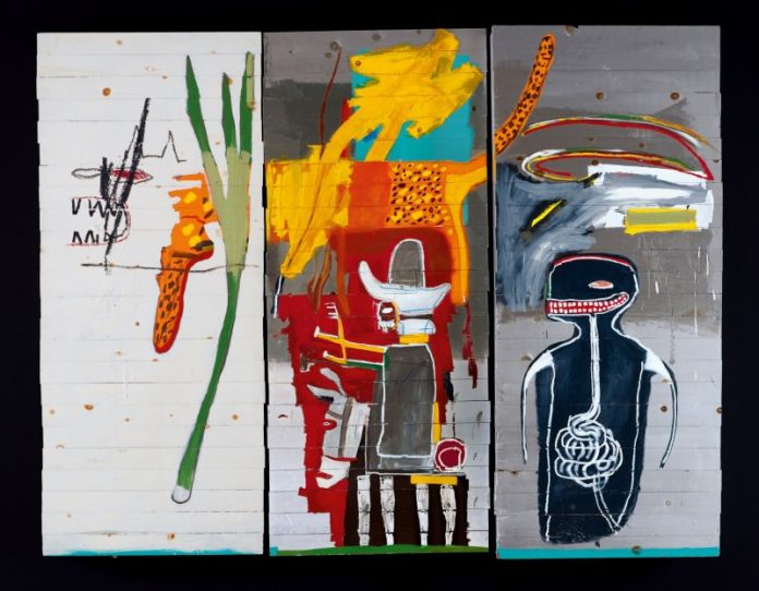 Jean Michel Basquiat Untiled (1985) Courtesy of Sotheby's
