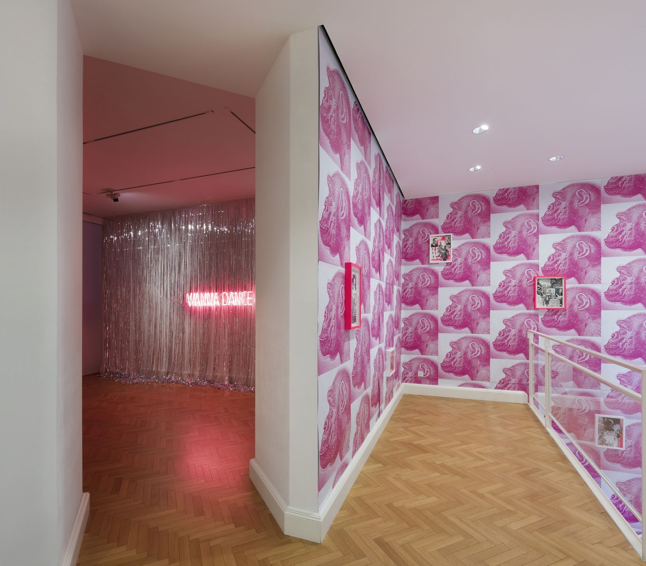 KINGS. Dancing30. Exhibition view at Viasaterna Gallery, Milano 2021