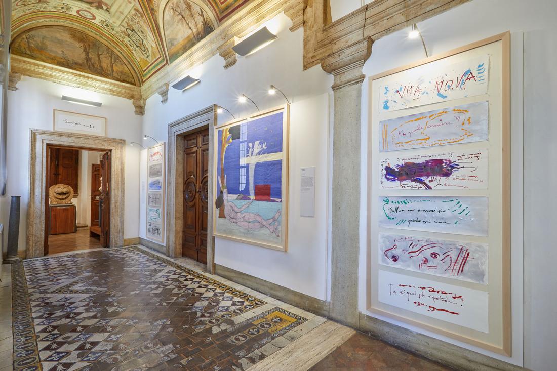 La Vita Nova L'amore in Dante nello sguardo di 10 artiste, PATRIZIA CAVALLI E SABINA MIRRI