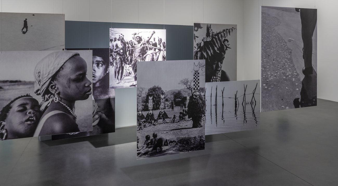 Laura Grisi. The Measuring of Time. Exhibition view at Muzeum Sussch, Susch 2021. Courtesy Claudio von Planta & Muzeum Susch Art Stations Foundation CH