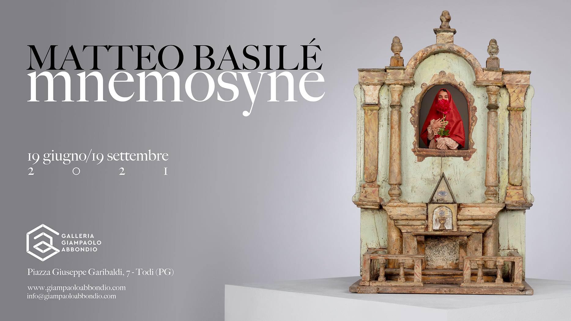 L'invito all'opening della nuova Galleria Giampaolo Abbondio