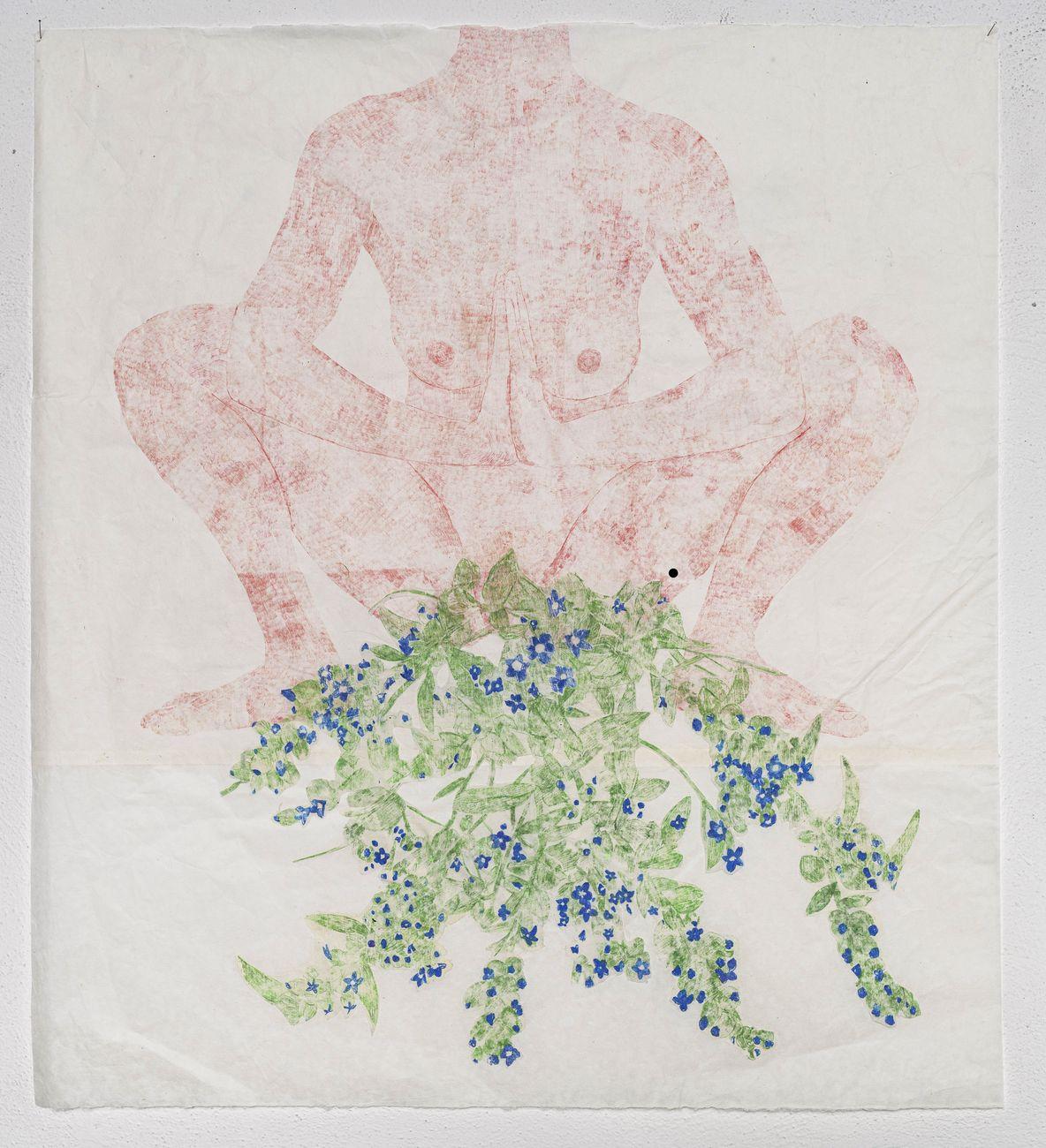 Marta Roberti, Fare fiori in malasana, 2020. Courtesy l'artista & Monitor, Roma Lisbona Pereto