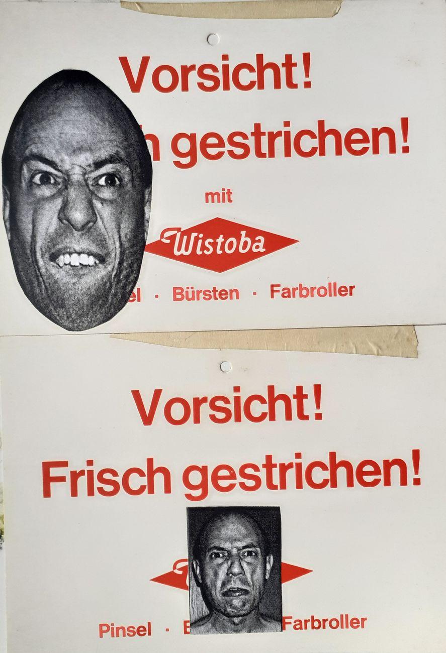 Pino Boresta, D.U.R. Documenti Urbani Rettificati, Kassel 1997