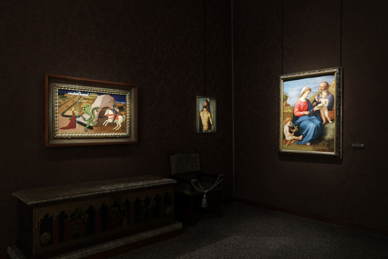 Sala del Rinascimento, Galleria di Palazzo Cini, Venezia. Photo Massimo Pistore