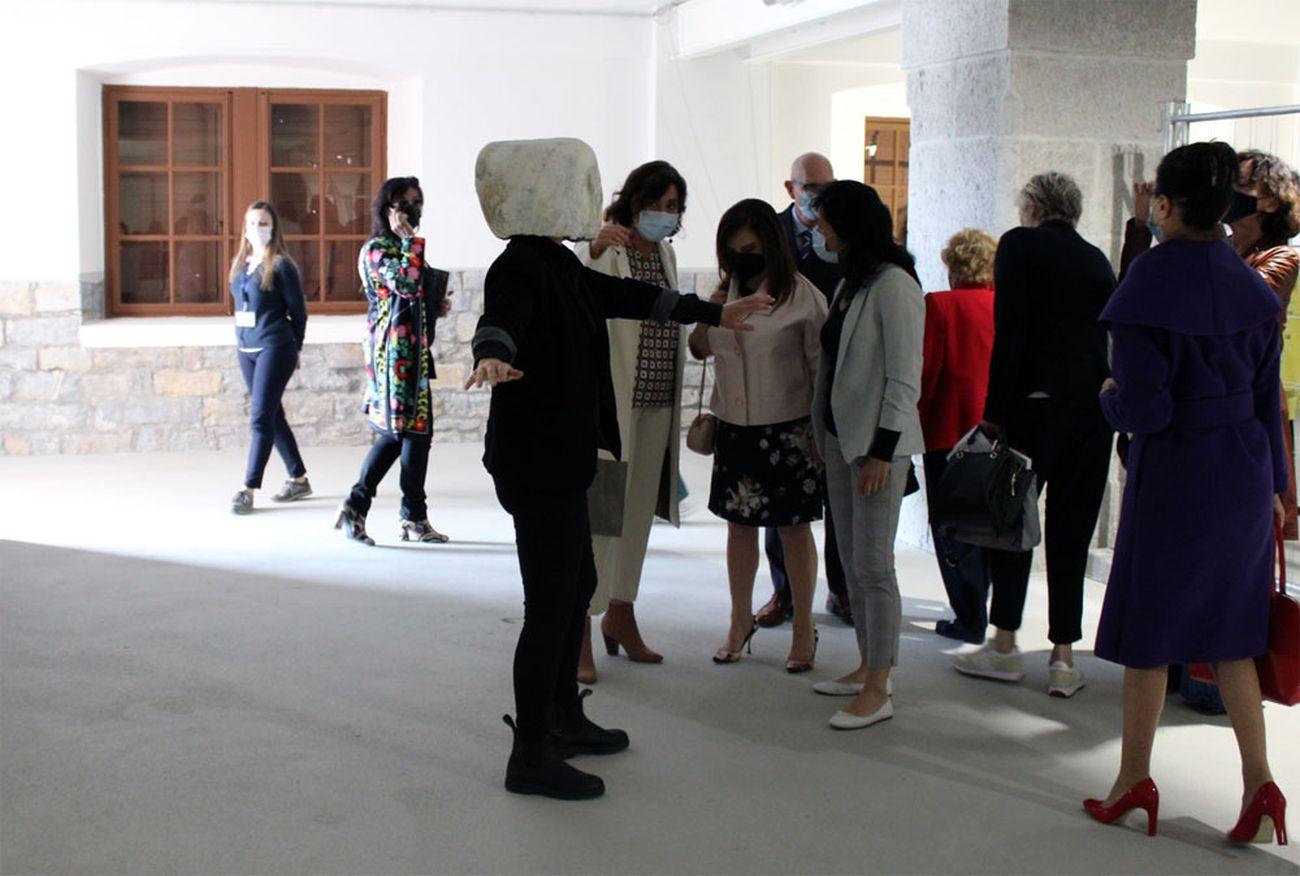 Sara Ciuffetta, Ostraniene, 2021. Biennale Internazionale Donna, Trieste