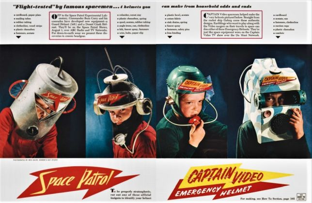 Steven Heller & Jim Heimann ‒ Toys. 100 Years of All American Toy Ads (Taschen, Colonia 2021). Space Patrol, 1953