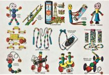 Steven Heller & Jim Heimann ‒ Toys. 100 Years of All American Toy Ads (Taschen, Colonia 2021). The toy tinkers, 1920