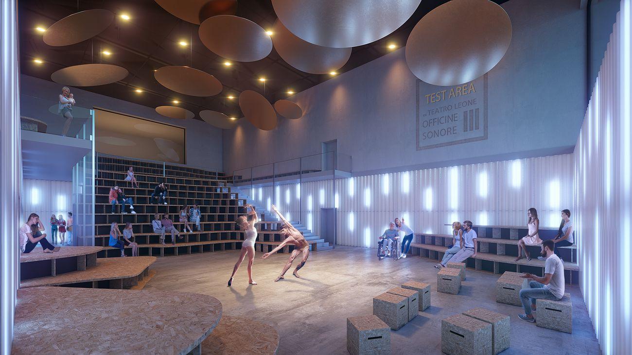 Teatro Leone. Courtesy Il Prisma