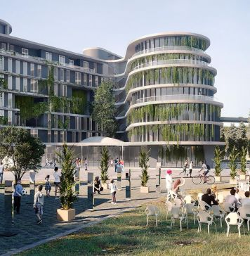 The Student Hotel Roma, render