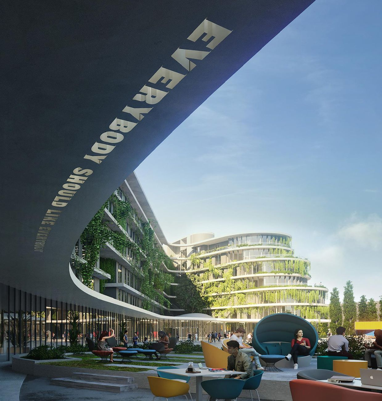 The Student Hotel, render