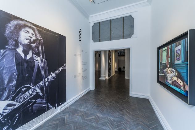 Bob Dylan: 60 Years of Creating, Halcyon Gallery Londra. Ph. Guy Bell