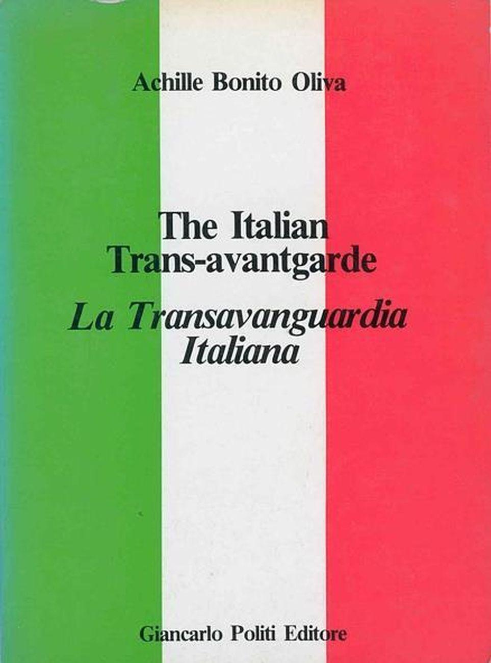 Achille Bonito Oliva, La Transavanguardia Italiana (Giancarlo Politi Editore, 1980)