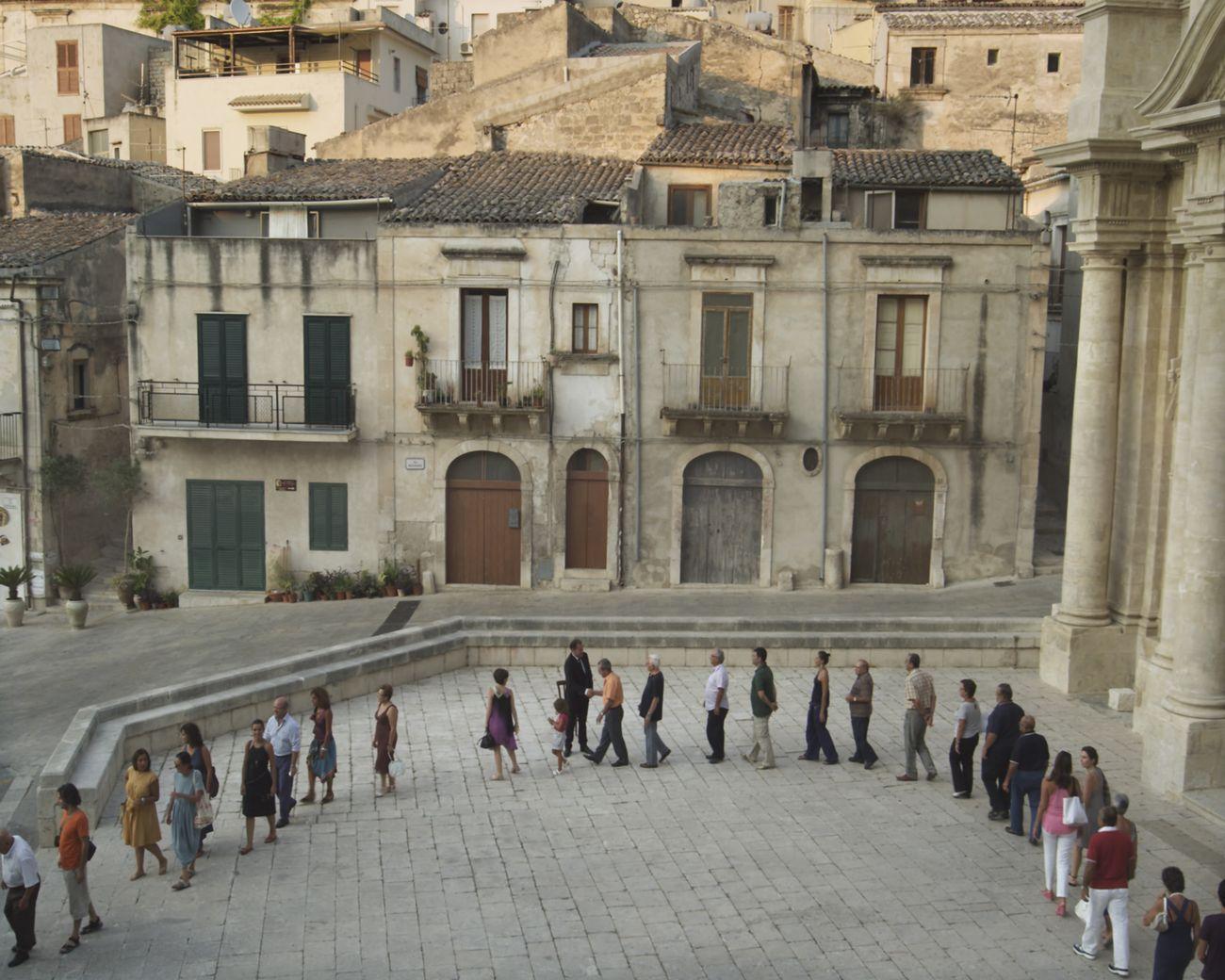 Adrian Paci,The encounter, 2011, still da video, 22', 2011. Courtesy l'artista