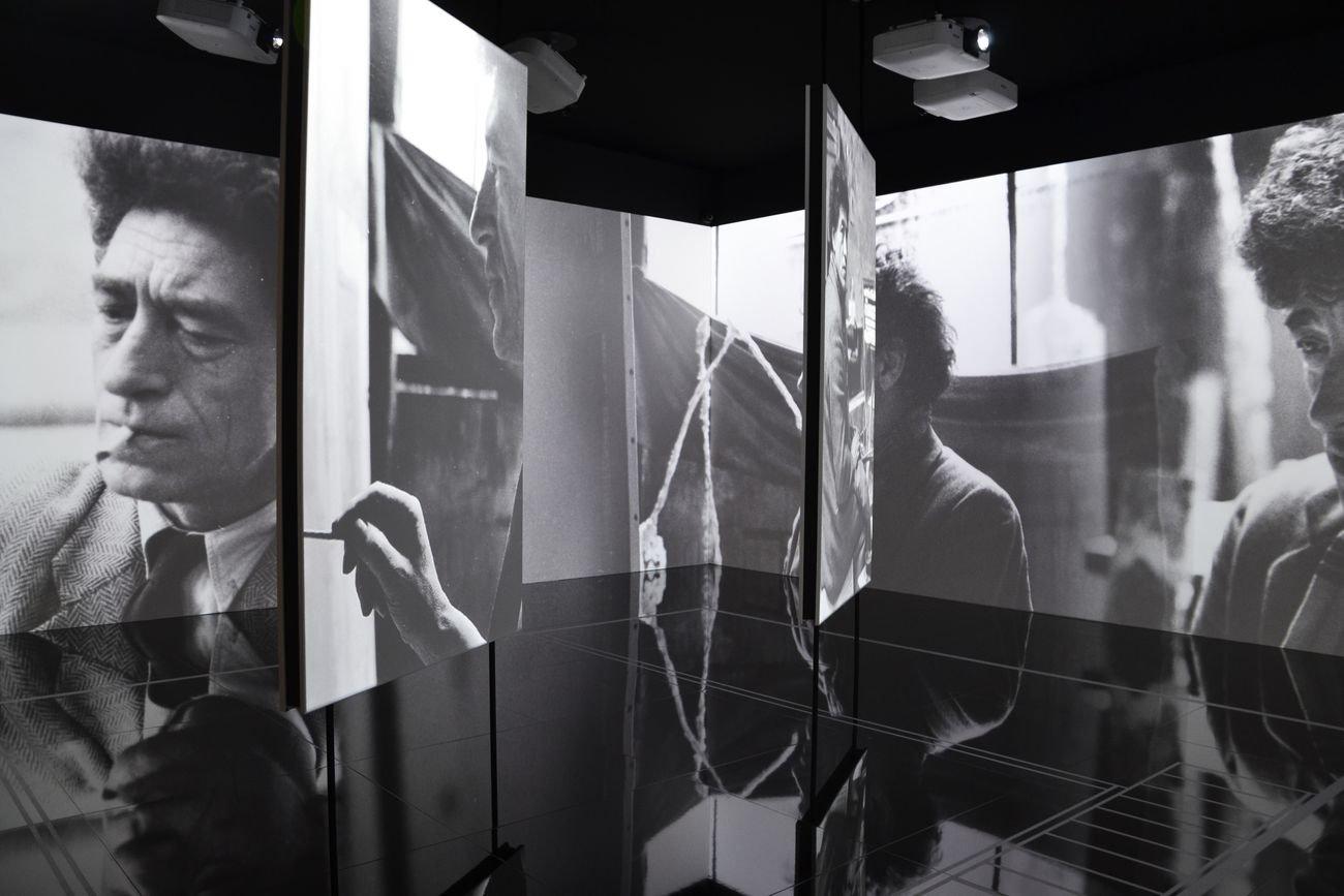 Alberto Giacometti. Meravigliosa realtà. Exhibition view at Grimaldi Forum, Montecarlo 2021