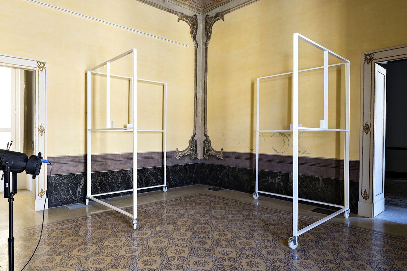 Alessandro Bava, installation view at Fondazione Morra Greco Napoli 2021. Photo Marco Casciello. Courtesy Fondazione Morra Greco