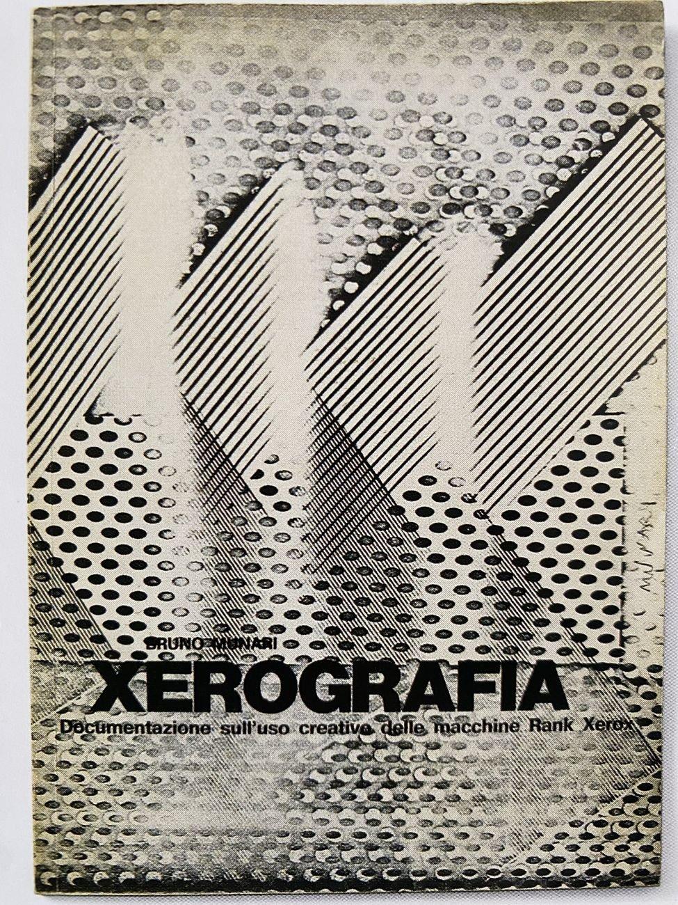 Bruno Munari, Xerografia, 1972