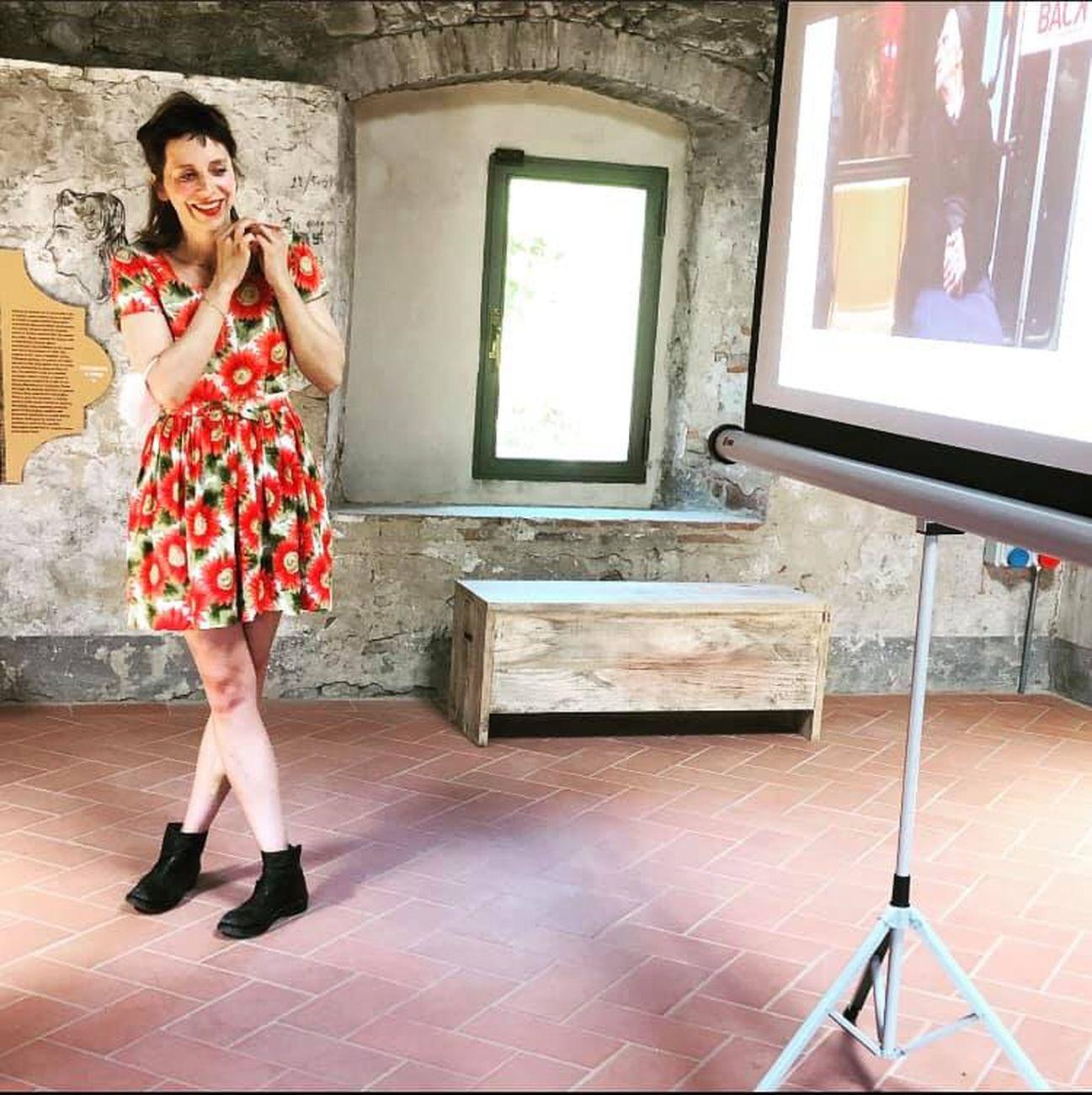 Cantieri Montelupo, workshop di Emanuela Barilozzi Caruso, Fornace del Museo, Montelupo Fiorentino 10 luglio 2021. Photo Benedetta Falteri