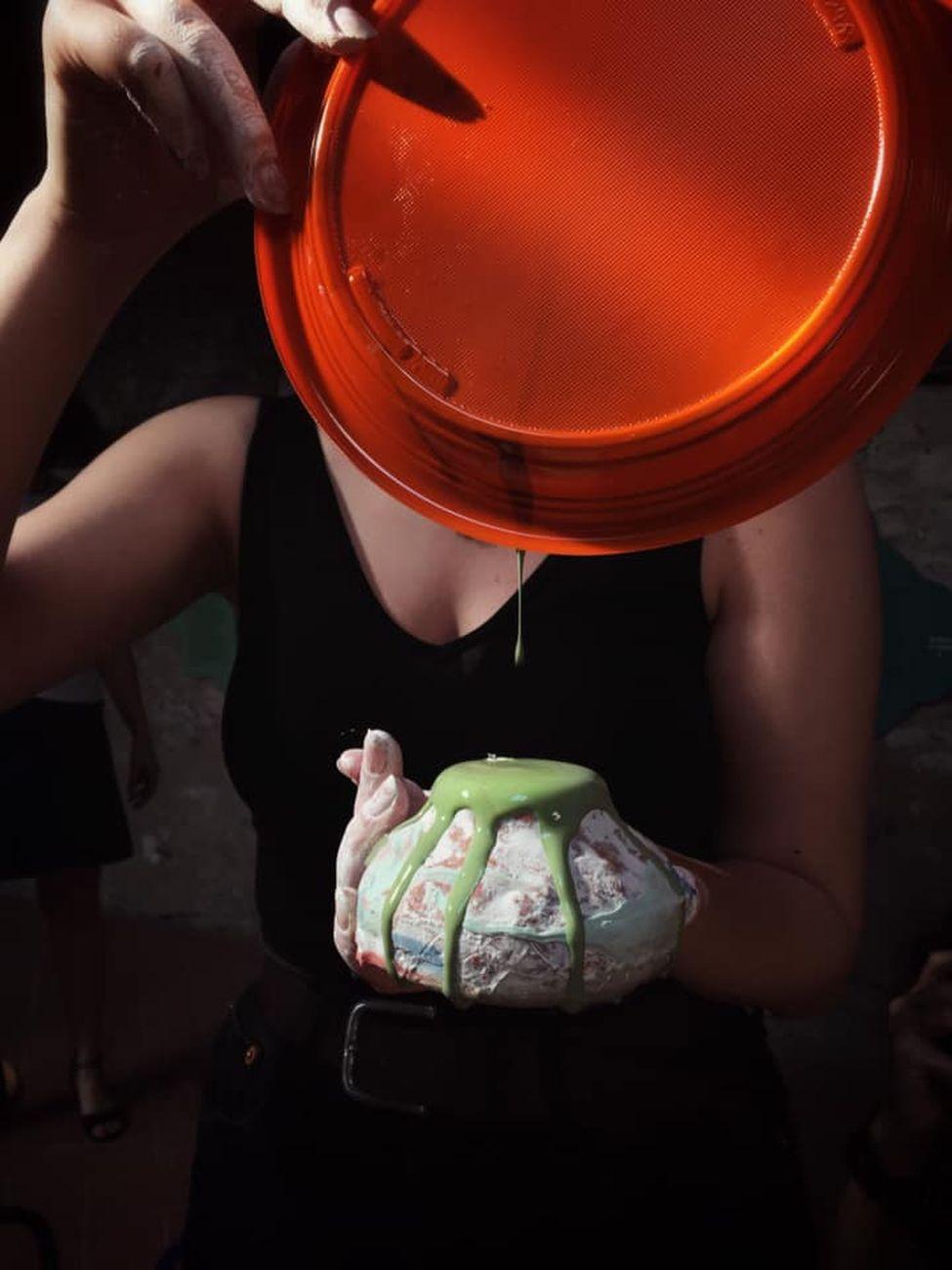 Cantieri Montelupo, workshop di Emanuela Barilozzi Caruso, Fornace del Museo, Montelupo Fiorentino 10 luglio 2021. Photo Emanuela Barilozzi Caruso