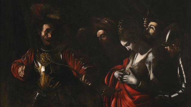 Caravaggio (Michelangelo Merisi), Martirio di sant'Orsola, 1610, Collezione Intesa Sanpaolo, Foto Luciano Pedicini, Napoli