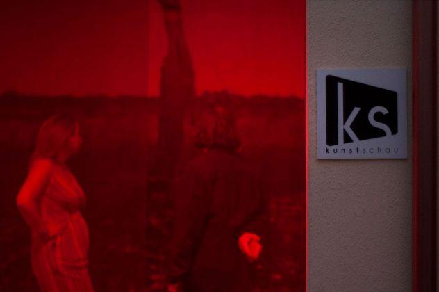 Chárōn - ferocia illuminata. Installation view at Kunstschau, Bari 2021. Photo Grazia Amelia Bellitta
