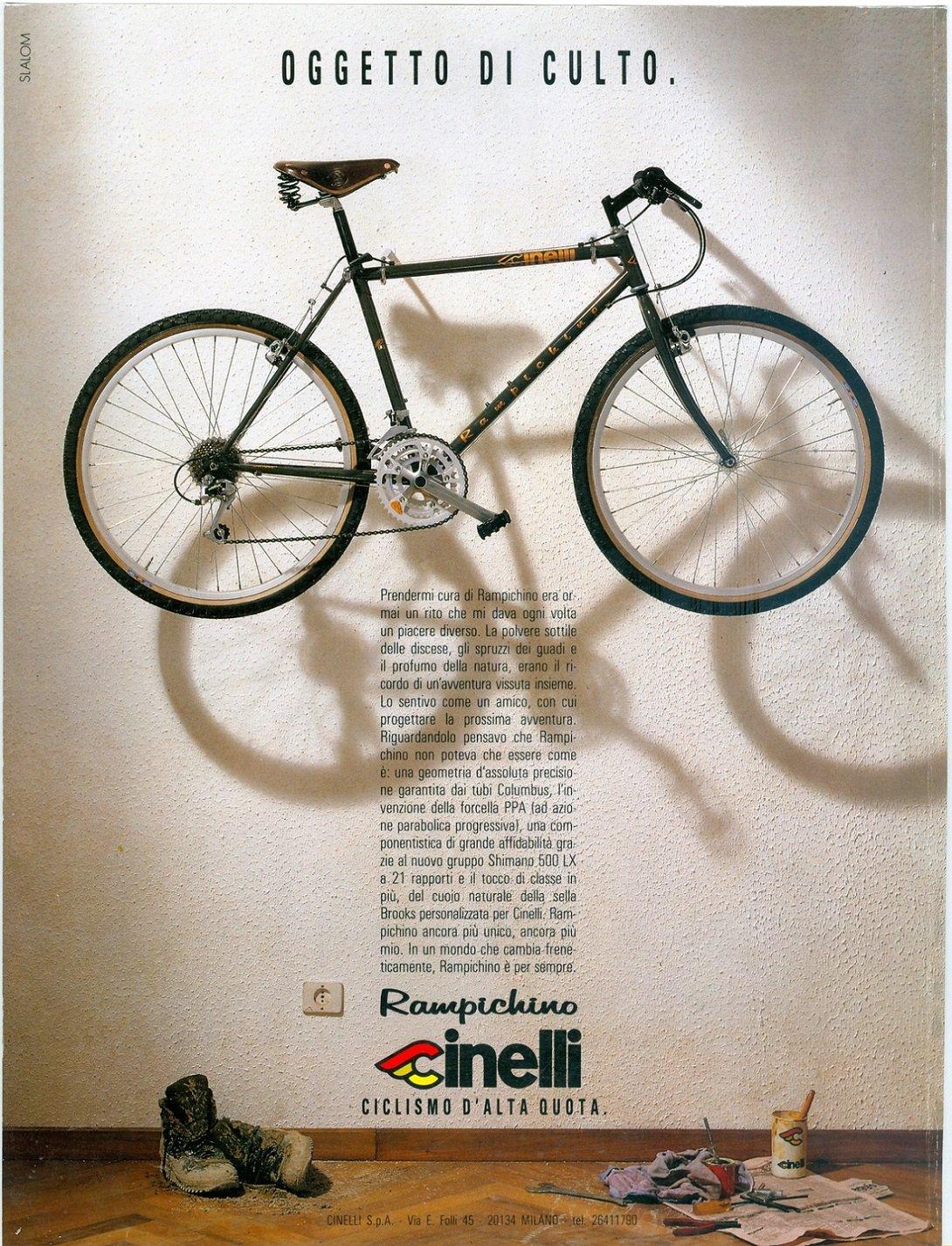 Cinelli Rampichino, 1986