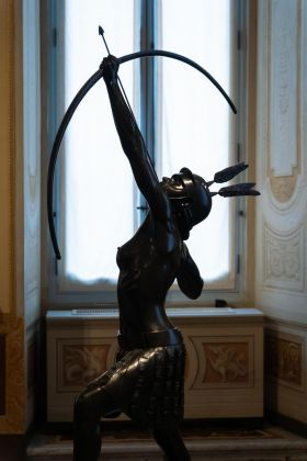 Damien Hirst. Archaeology now. Exhibition view at Galleria Borghese, Roma 2021. Photo Riccardo Pompili