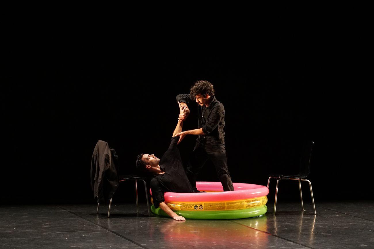 Danza in Rete 2021. Nicolas Grimaldi Capitello, Remember my (lost) family. Photo Alice Mattiolo