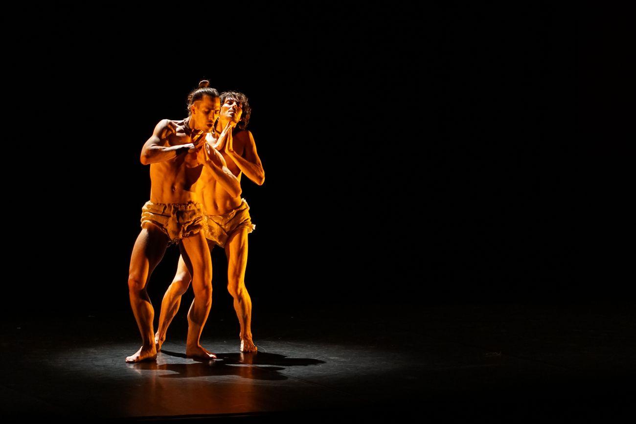 Danza in Rete 2021. Pablo Girolami & Giacomo Todeschi, Manbuhsa. Photo Alice Mattiolo