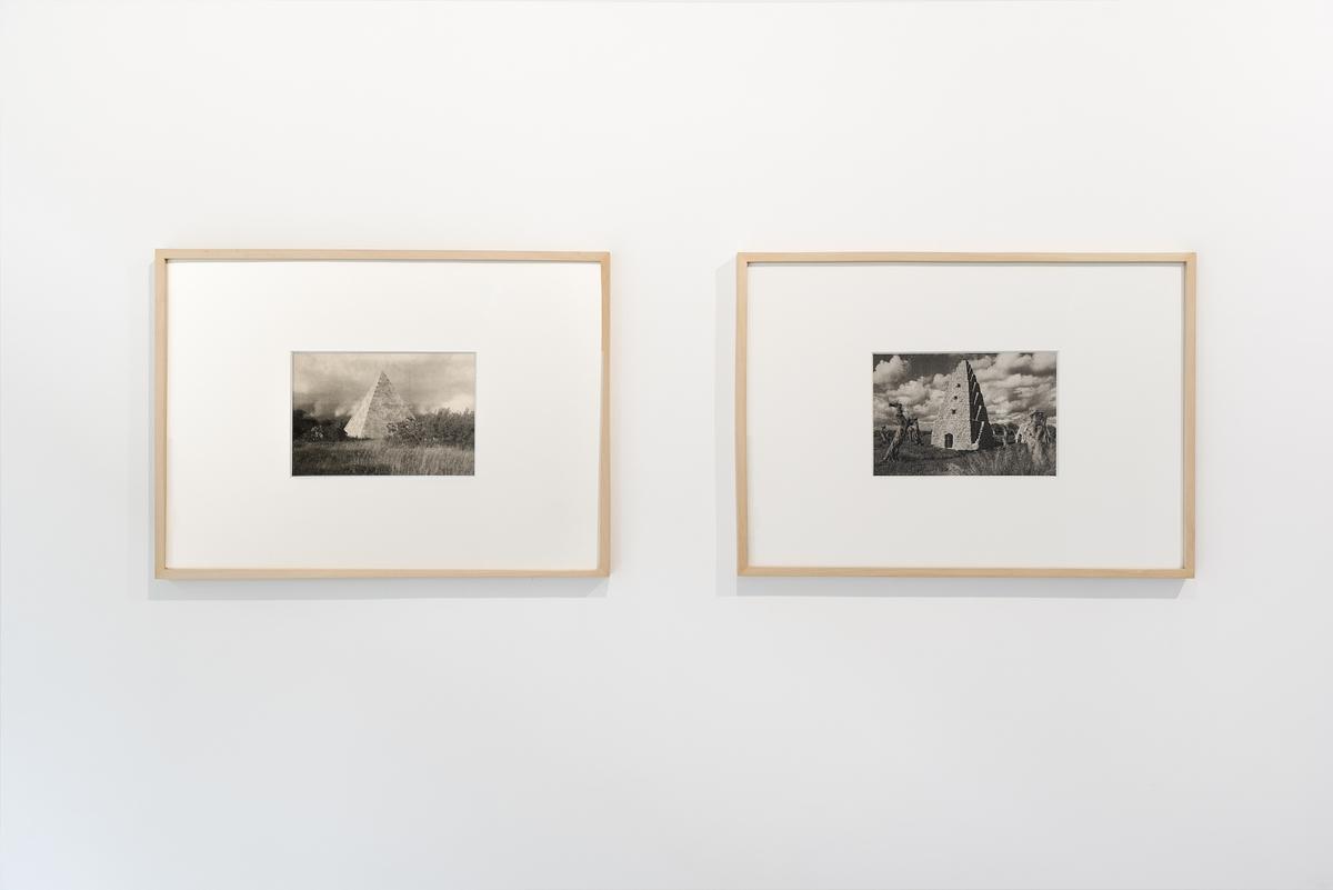 Deep site, Luca Coclite, vista dell'installazione Courtesy linea ph Alice Caracciolo