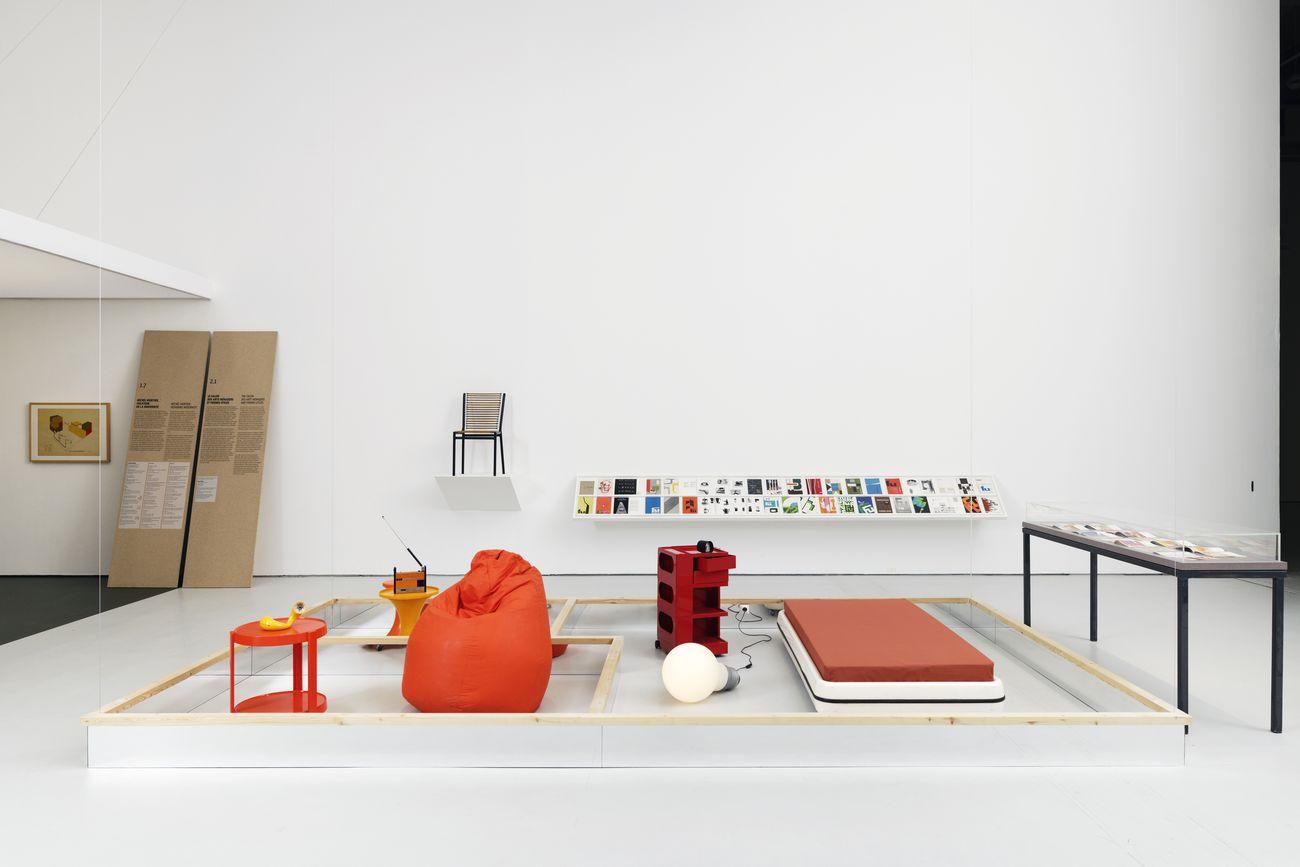 Déjà vu. Le design dans notre quotidien. Exhibition view at Musée d'art moderne et contemporain de Saint Étienne Métropole, 2021. Photo credit Aurélien Mole – MAMC+