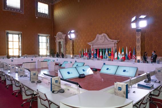 G20 Cultura - Palazzo Barberini Roma. Courtesy Ministero della Cultura e G20 Italia