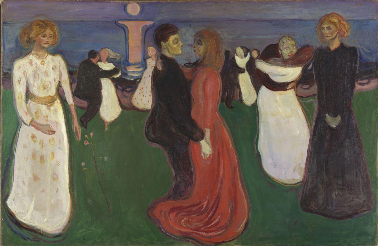 Edvard Munch, The dance of life, 1899 1900. Photo Nasjonalmuseet – Børre Høstland