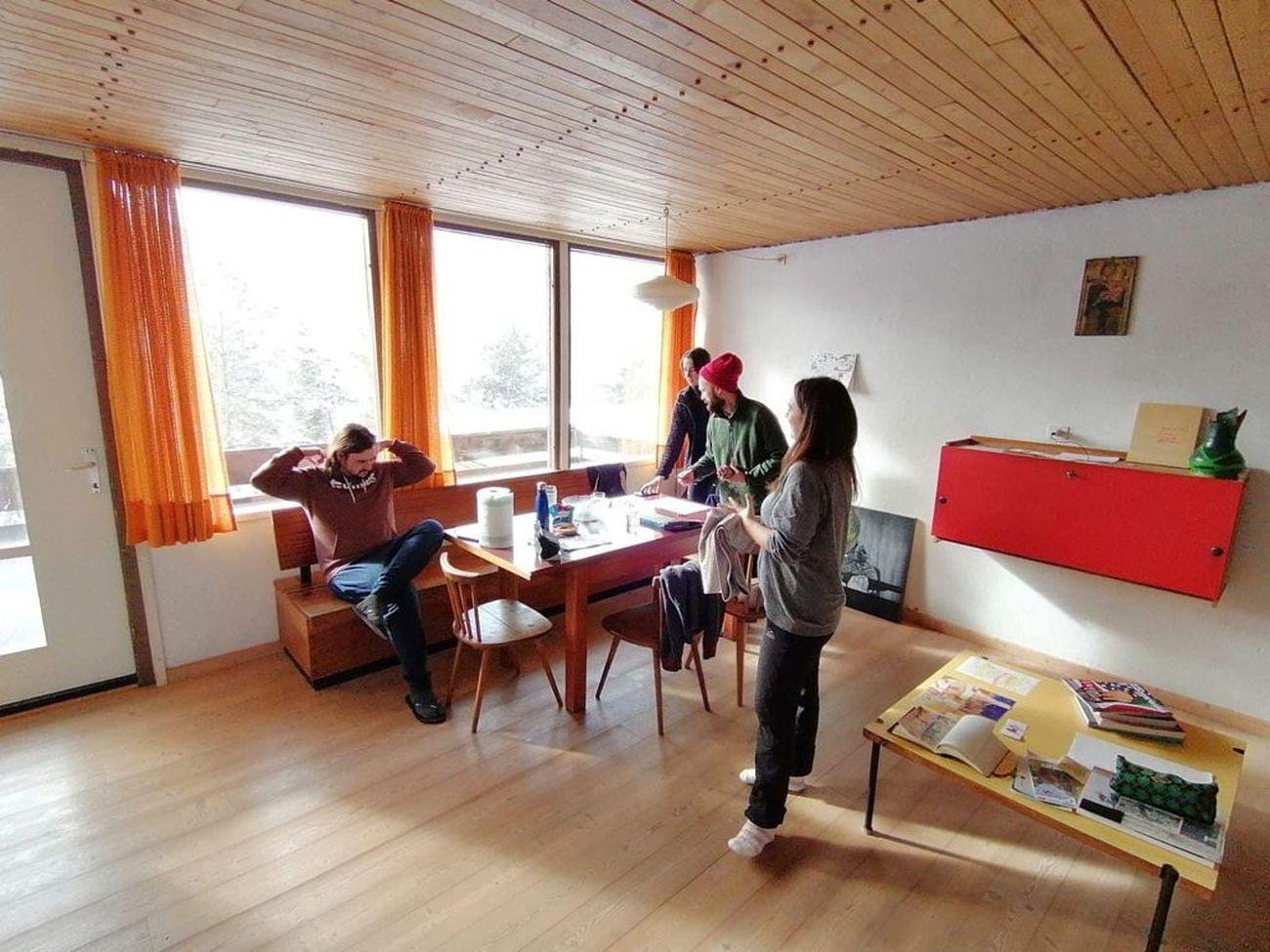 Fondazione Malutta in residenza in Dolomiti Contemporanee