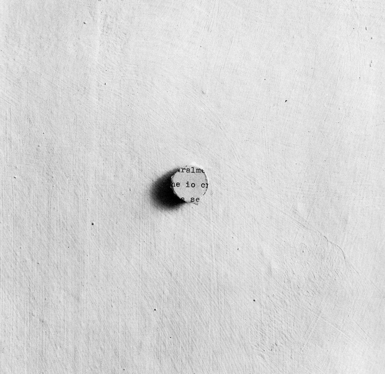 Giulio Paolini, Io (Frammento di una lettera), 1969
