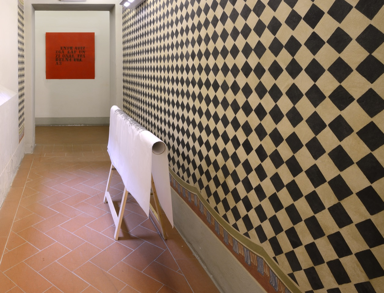 H.H. Lim. Percorso circolare. Exhibition view at Chini Contemporary, Borgo San Lorenzo 2021