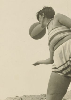 Female Student with Beach Ball; Irene Bayer-Hecht (American, 1898 - 1991); about 1925