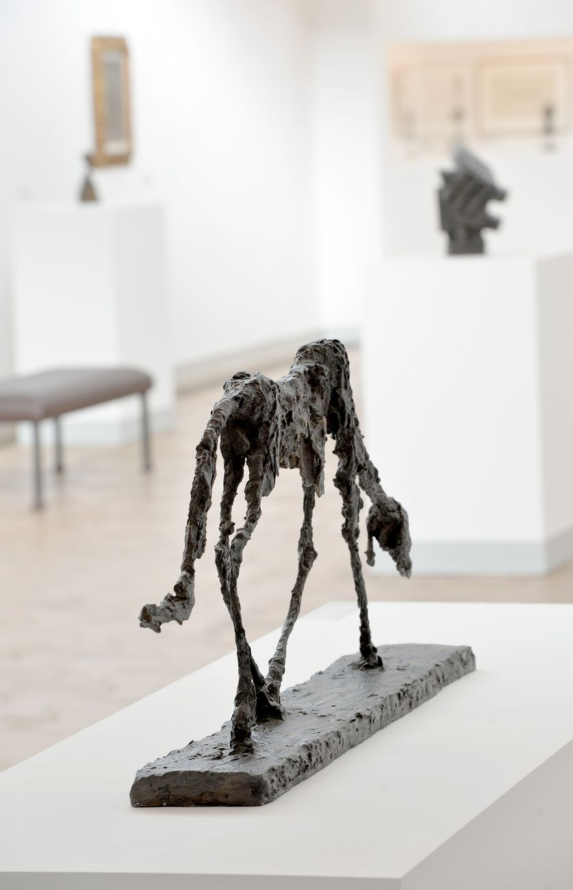 Les Giacometti. Une famille de créateurs. Exhibition view at Fondation Maeght, Saint Paul de Vence 2021 © Archives Fondation Maeght. Photo Roland Michaud