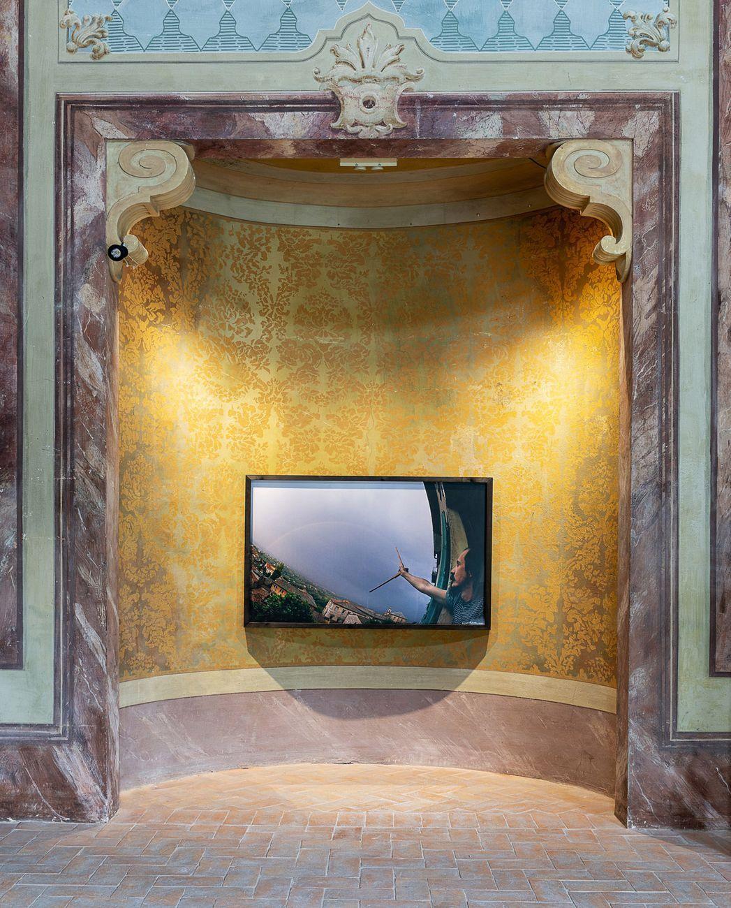 Luca Maria Patella. Exhibition view at Palazzina dei Giardini, Modena 2021. Photo © Rolando Paolo Guerzoni
