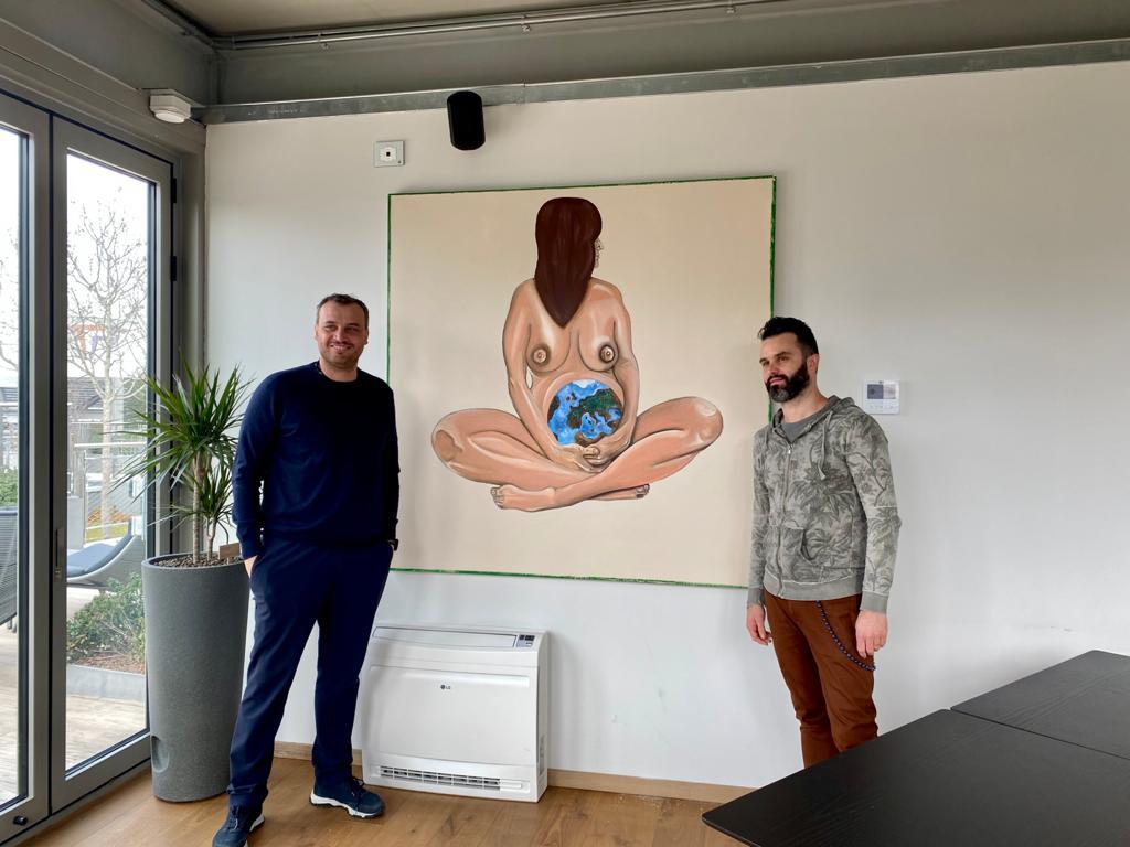 Matteo Fieno e Francesco Farinetti, AD di Green Pea