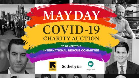 MayDay Covid 19 Charity Auction at Sotheby's