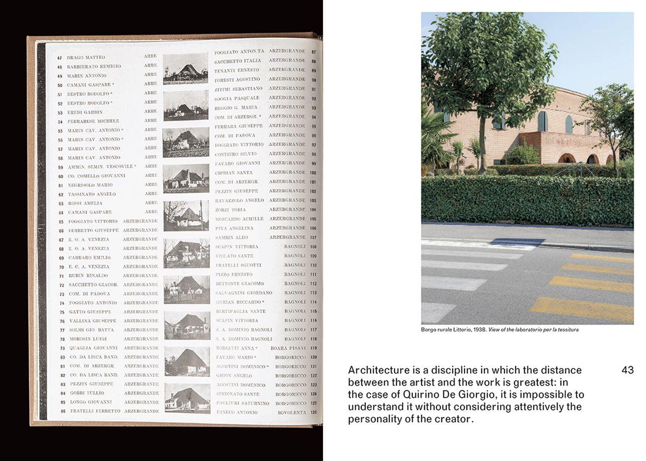 Michel Carlana, Luca Mezzalira, Curzio Pentimalli – Quirino De Giorgio. An Architect's Legacy (Park Books, Zurigo 2019)