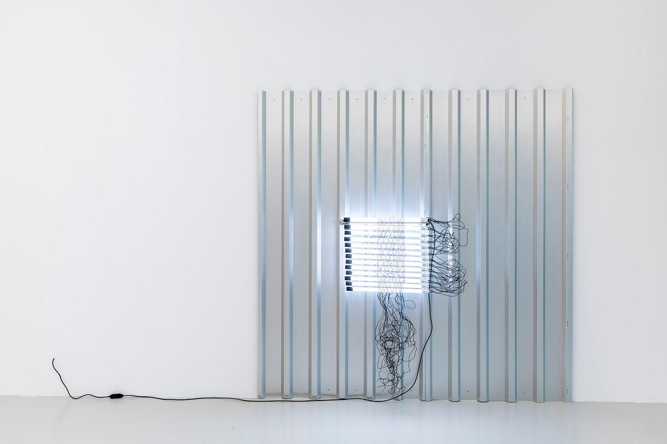 Monica Bonvicini, Hang Your Dry, 2019. Photo Roberto Marossi. Courtesy Cassina Projects