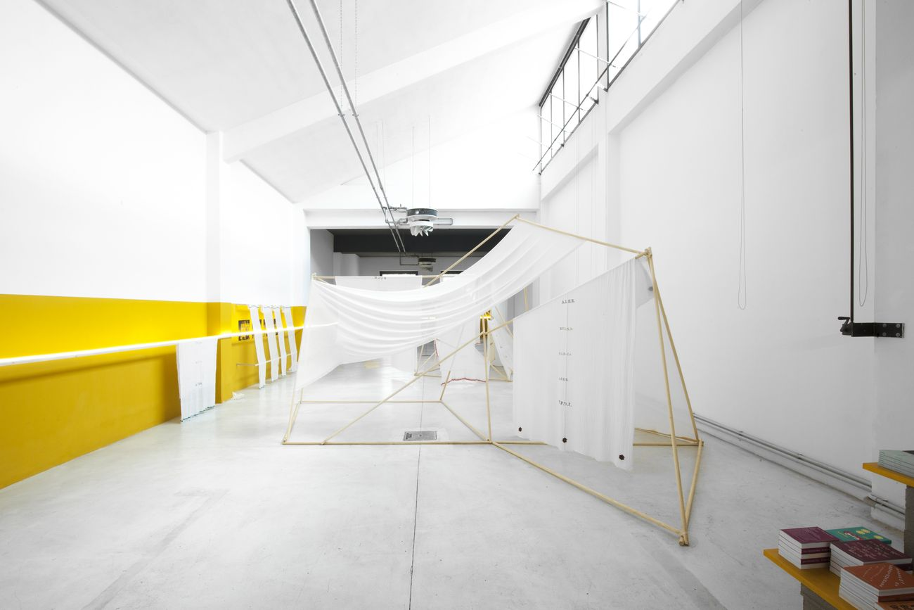 Muna Mussie. Bologna St. 173. Exhibition view at Archive Milano, 2021. Photo Monia Ben Hamouda