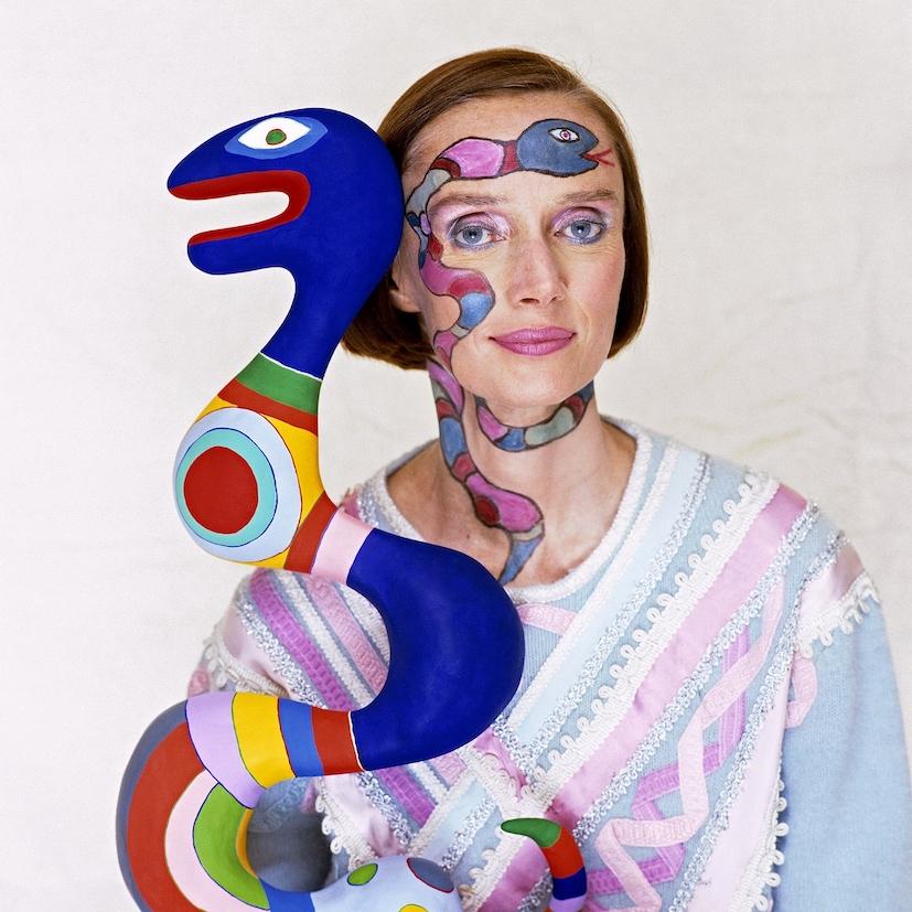 Niki de Saint Phalle @The Norman Parkinson Archive Iconic Images 2020