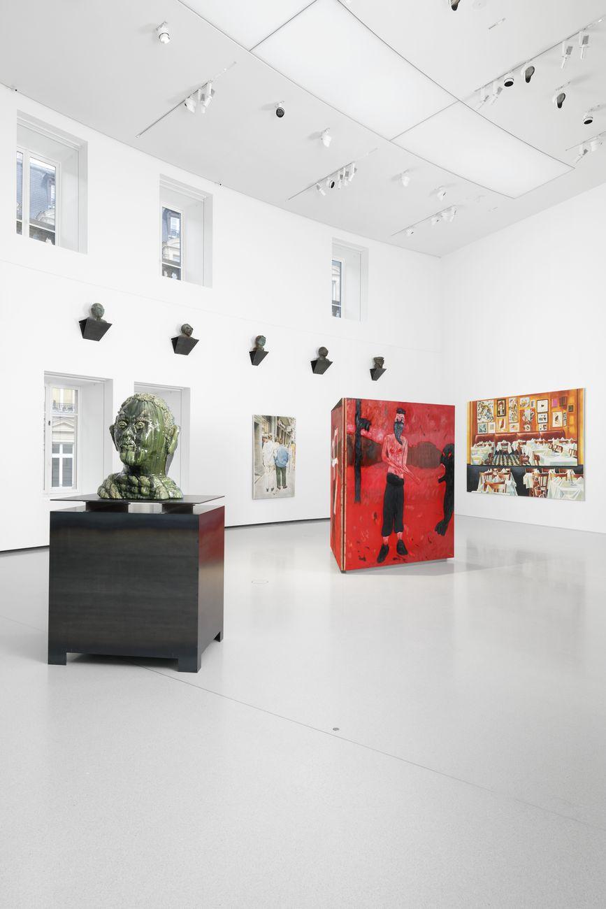 Ouverture. Exhibition view at Bourse de Commerce — Pinault Collection, Parigi 2021. Photo Aurélien Mole