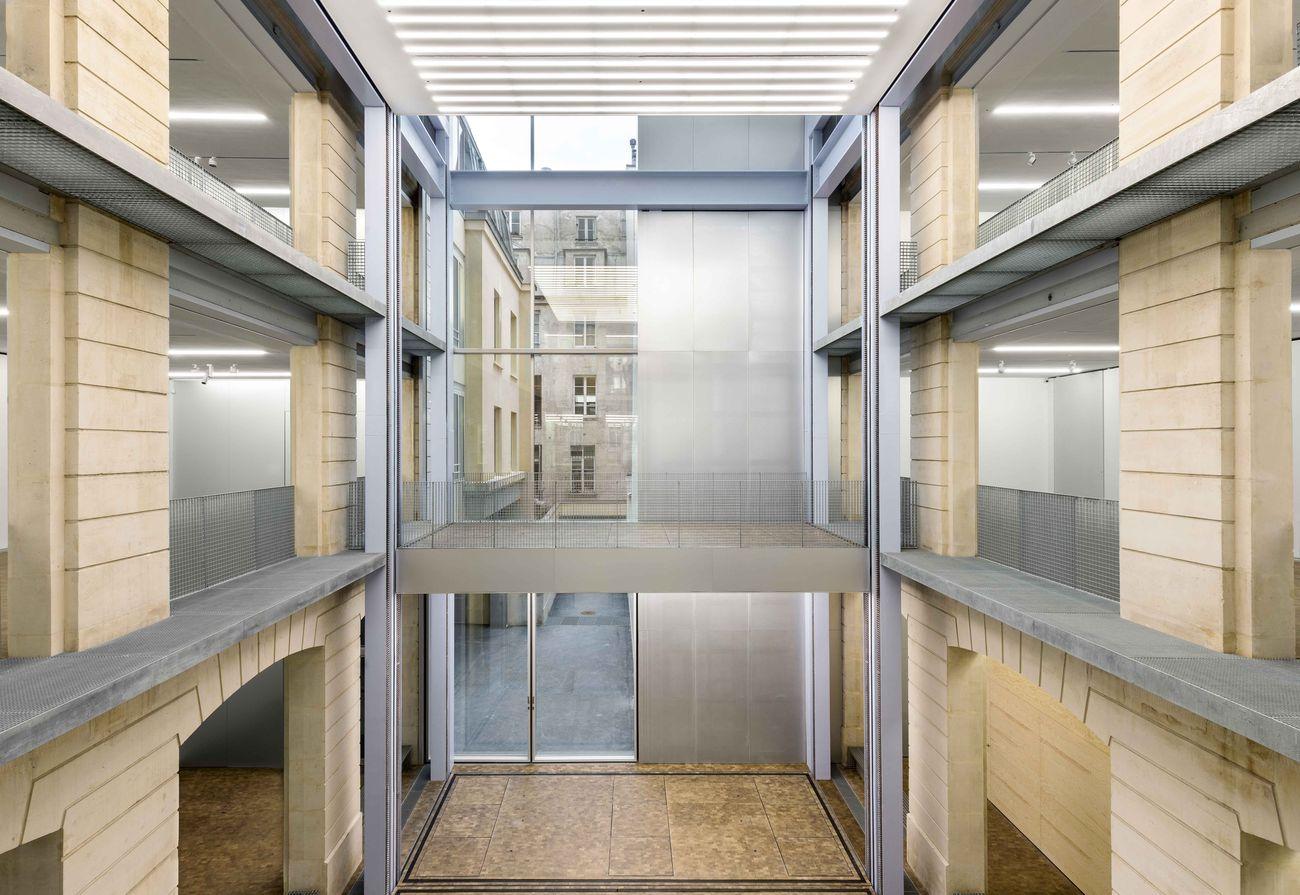 Parigi. Lafayette Anticipations, Atrium. Photo © Delfino Sisto Legnani & Marco Cappelletti