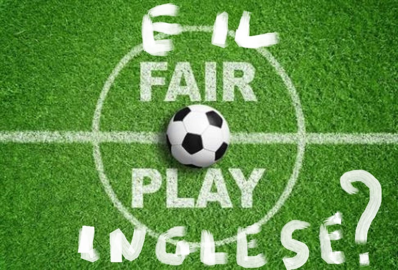 Pino Boresta, E il Fair Play inglese?, opera digitale