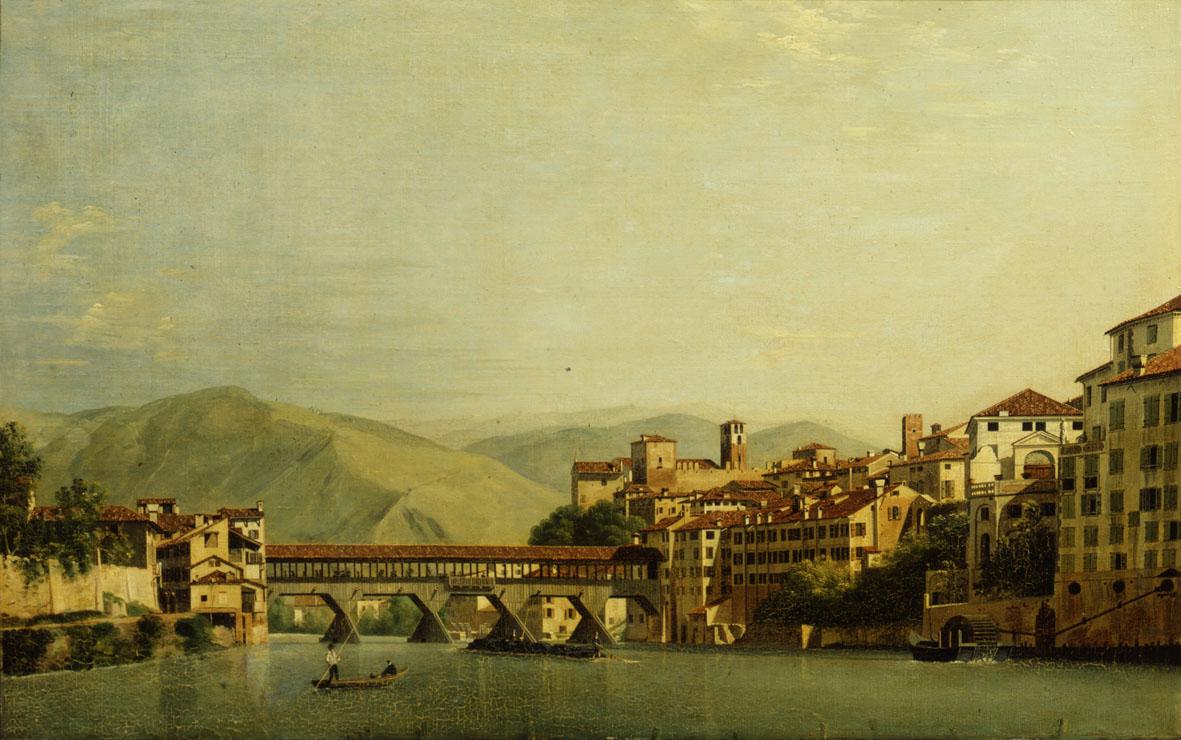 Roberto Roberti, Il Ponte di Bassano, 1807, Museo Civico, Bassano del Grappa